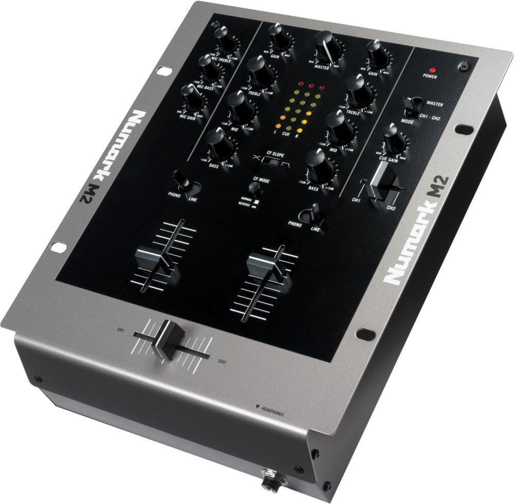 Numark M2 Mixer DJ 2 voies Professionnel