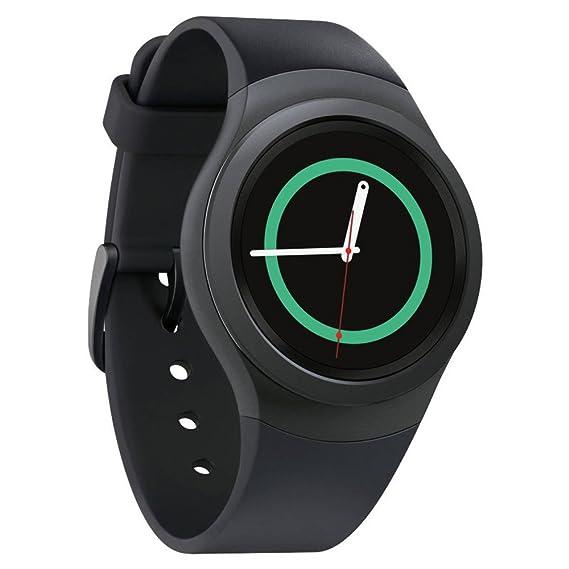 Samsung Gear S2 Smartwatch w/ Small Band - Dark Gray (Renewed)