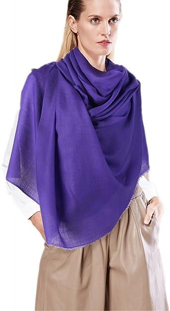XXL Donna Invernali SCIARPA Caldo Morbido Grande di panno con pattern