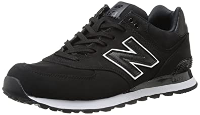 New Balance Men\u0027s ML574 High Roller Collection Running Shoe,Black,8 ...