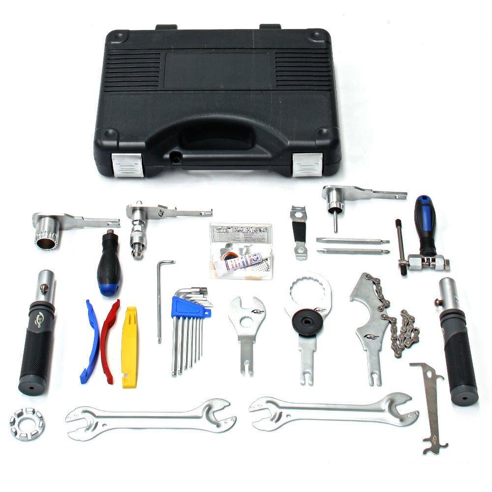 Prenium Bike Bicycle Repair Complete Tool Kit Detachable