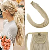 LaaVoo 14inch Clip in Ponytail Extension Wrap