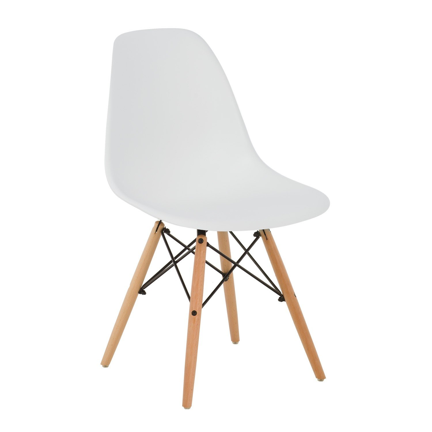 Silla Blanco Madera Natural vintagehttps://amzn.to/2Ek6t4y