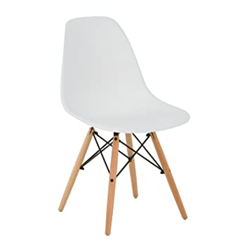 SKLUM Eames Chair DSW Chair U2013 Tower Wood White