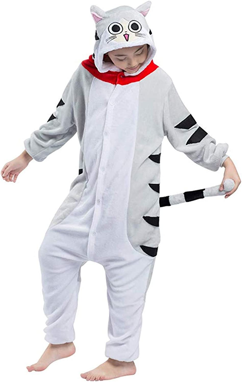 Fandecie Unisex Niños Pijama Animal Onesies Disfraz Stitch Disfraz ...