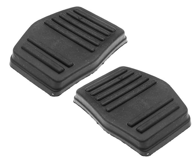 Protectores de goma para pedales de freno y embrague, 2 unidades: Amazon.es: Coche y moto