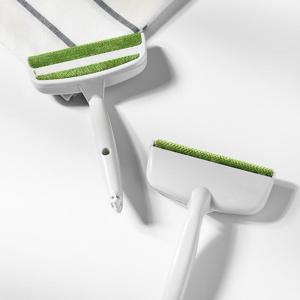 Demiawaking Spazzola Toglipeli per Tessuti a 2 Teste Levapelucchi Dispositivo di Rimozione della Polvere