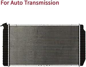 YY HEAITH Auto Al/Plastic Radiator For Buick Park Avenue Olds 88 98 Pontiac Bonneville