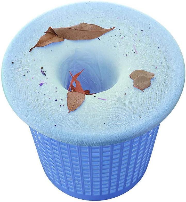 5//10//20 PCS Ploufer Piscina Skimmer Socks- Filtro de Repuesto para Skimmer filtros duraderos de Malla de Nylon para cestas y Skimmers Elimina Hierba Hojas y m/ás