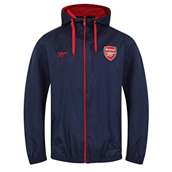 huge selection of 3d805 525bb Arsenal FC Official Football Gift Mens Shower Jacket ...