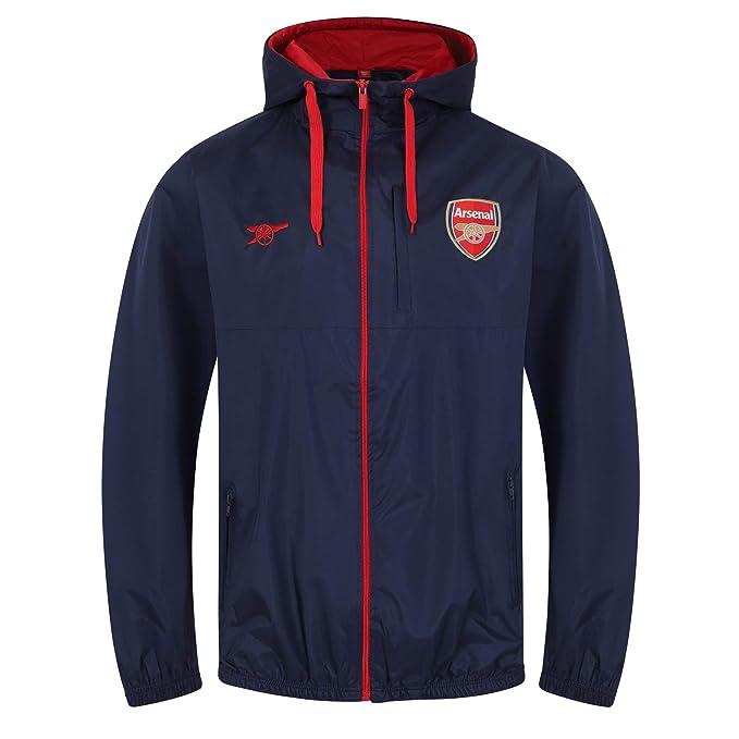 Arsenal FC - Chaqueta cortavientos oficial - Para hombre: Amazon.es: Ropa y accesorios
