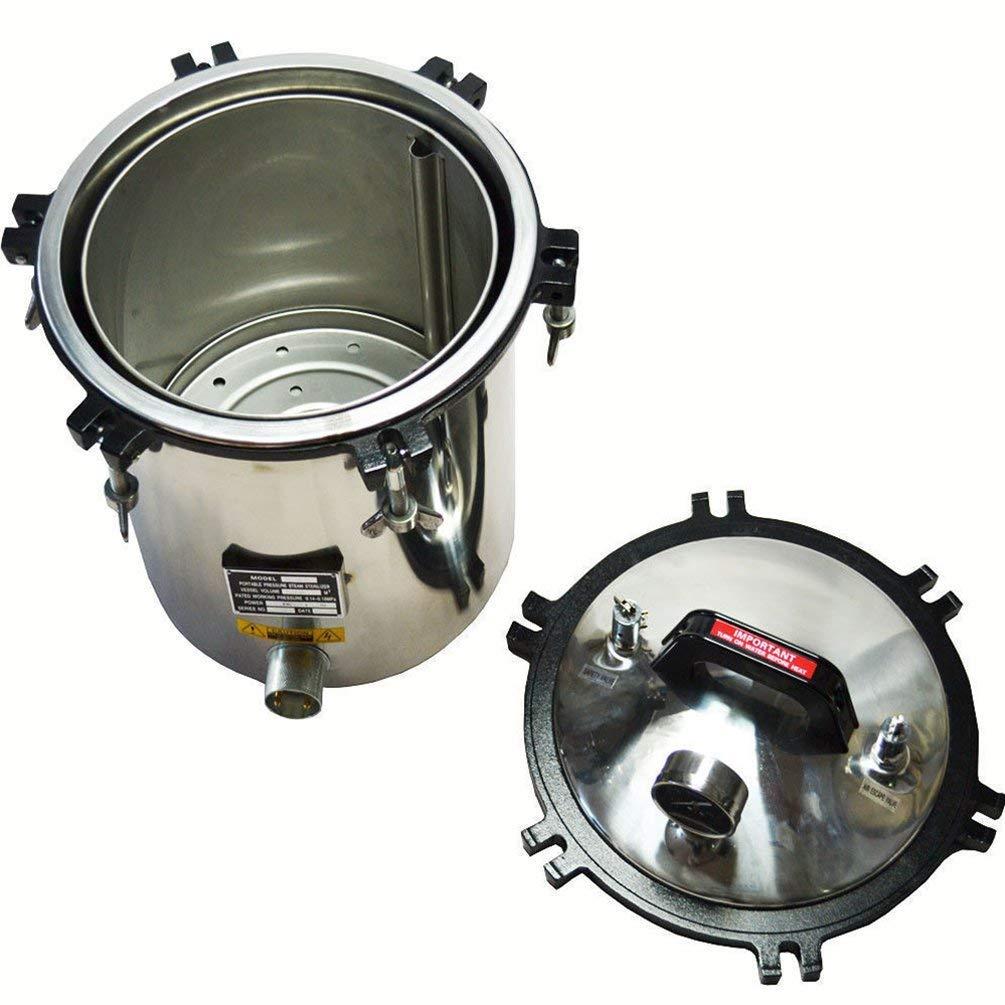 OLizee Electric Autoclave Sterilizer 4.7 Gallon(18L)
