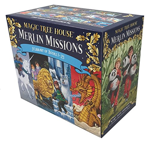 Magic Tree House Merlin Missions #1-25 Boxed Set (Magic Tree House (R) Merlin Mission)]()