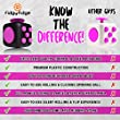 Pink Fidget Cube Toys for Stress, Fidgeting and Anxiety EDC Toy for Adults and Children with ADHD, OCD, Anxiety Disorder and Antsy Habits Everyday Carry from FidgyFidge