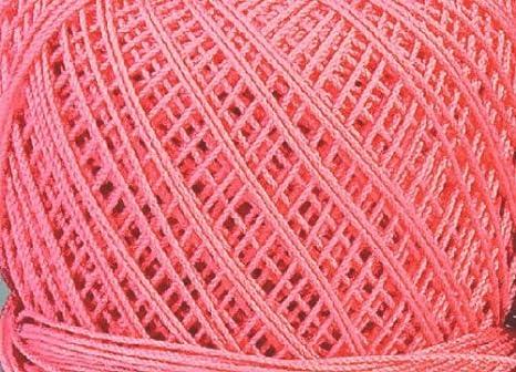 Filato Per Uncinetto Spessore 10 Cotone Colore Salmone 110