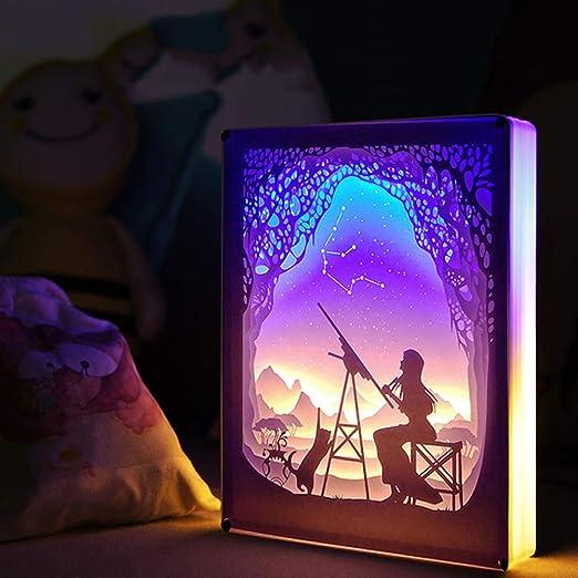 Constelación Night Light 3D Illusion Night Light Mesa Lámpara De ...
