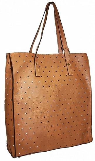 Primark - Cartera de mano para mujer marrón Karamell: Amazon.es: Ropa y accesorios