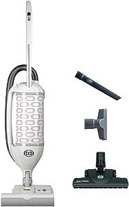 Sebo Vacuums 9808AM Felix Premium Upright Vacuum with Parquet, White - Corded