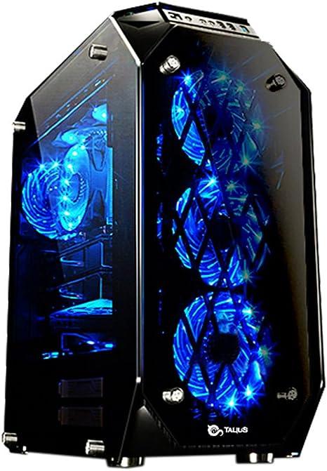 Talius Caja ATX Gaming Kraken Tornado 4 Paneles de Cristal ...