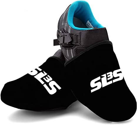 Toe Cover-BK Winter Windproof Cycling Bicycle Shoes Warm Thermal Fleece DODICI