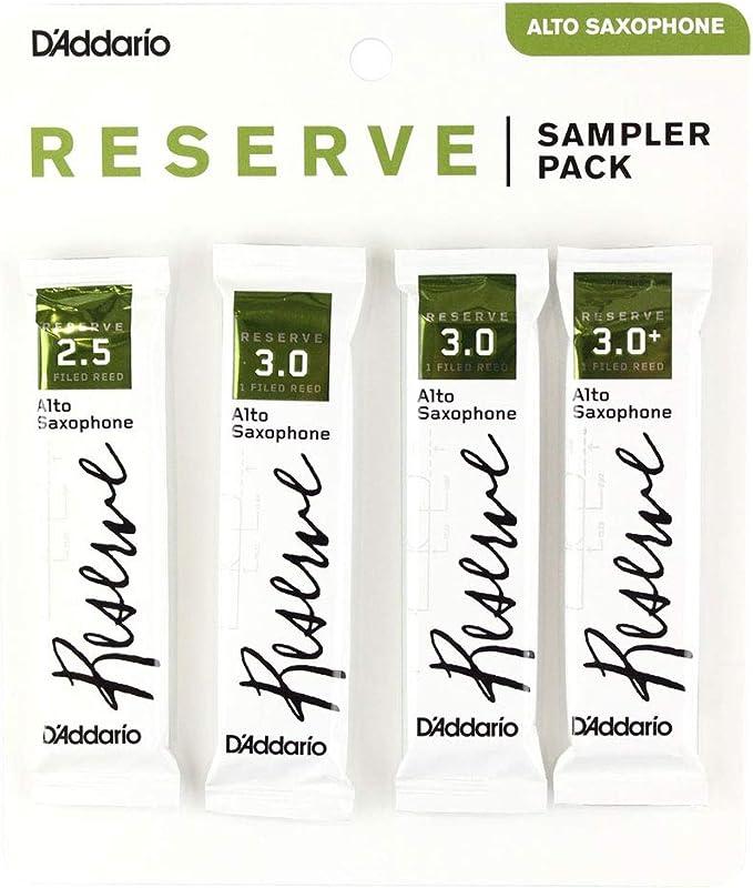 Strength 3.0+ 5-pack DAddario Reserve Tenor Saxophone Reeds