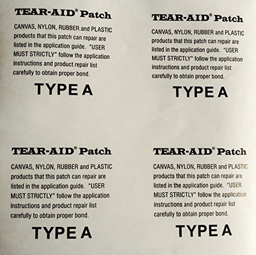 Tear-Aid Type A Kitesurfing Kite Bladder Repair Patch, 6in x ()