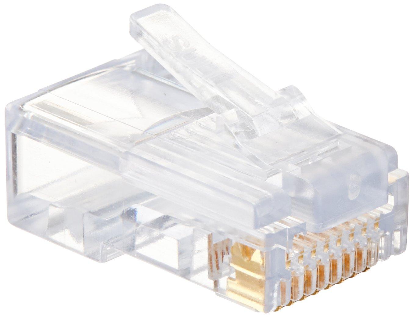Platinum Tools 100015 Ez Rj45 Cat5e Connector 15 Order Of The Bath Cat5 And Cat6 Connectors Clamshellpack Home Improvement