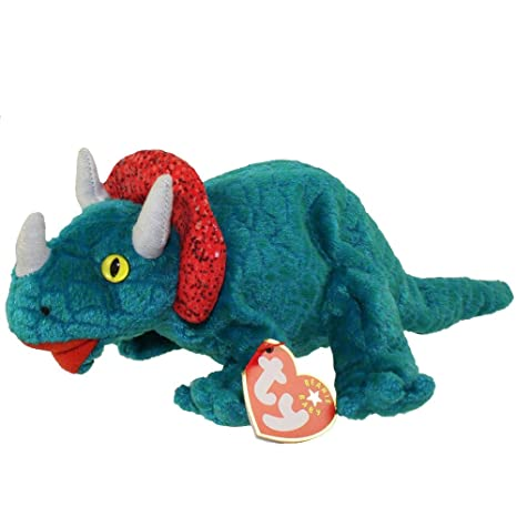 Amazon.com  TY Beanie Baby - HORNSLY the Dinosaur  Toy  by Ty TOY  Toys    Games 5325ee50a984