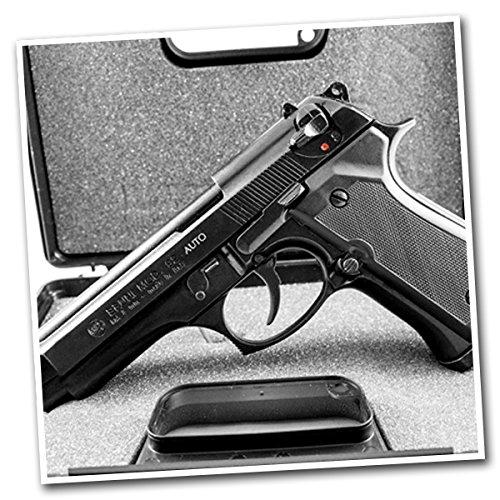 BRUNI leere pistole BERETTA 92 voll automatische 8mm 0.00 JOULE