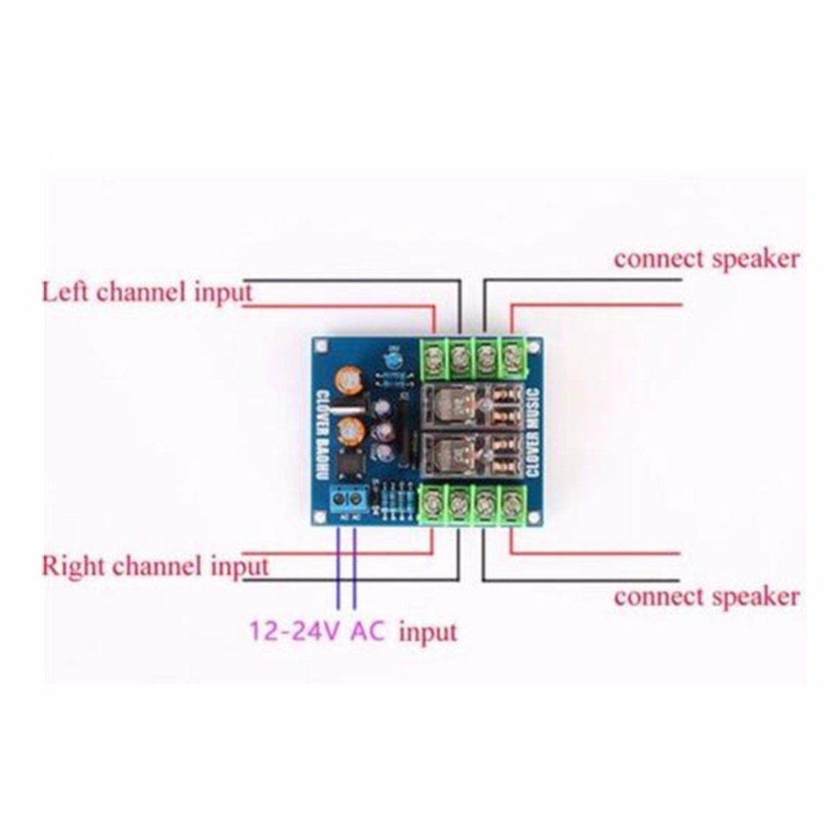 ELEGIANT Dual-OMRON Relais 7812 + UPC1237 Lautsprecher: Amazon.de ...