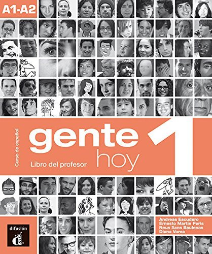 Gente Hoy: Libro Del Profesor 1 (A1-a2) (Spanish Edition) (2013-10-22)