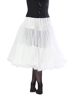 """af5c90da45f0 Malco Modes Samantha Luxury Tea-Length 26"""" Chiffon Petticoat for  Vintage Clothing, Wedding"""