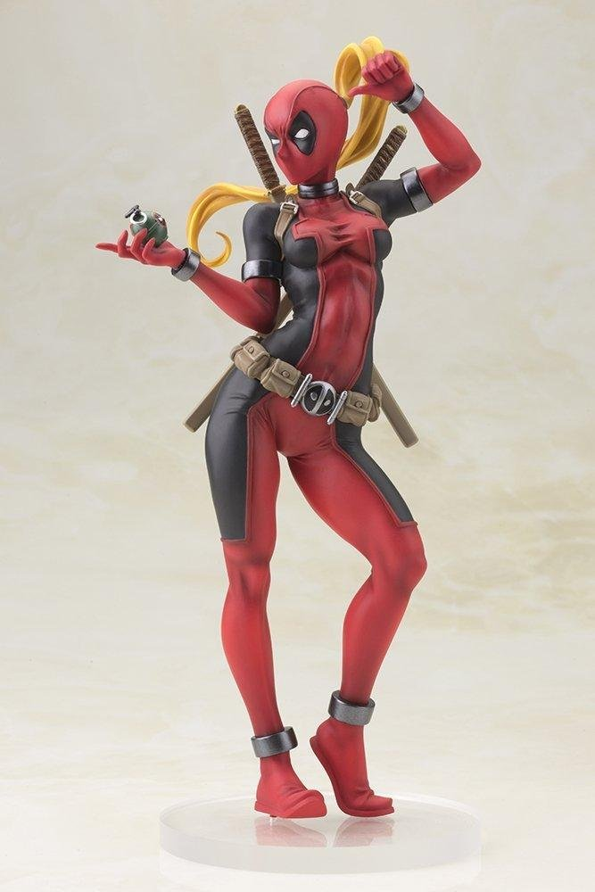 artfx Lady Deadpool Figure Deadpool Girl figure