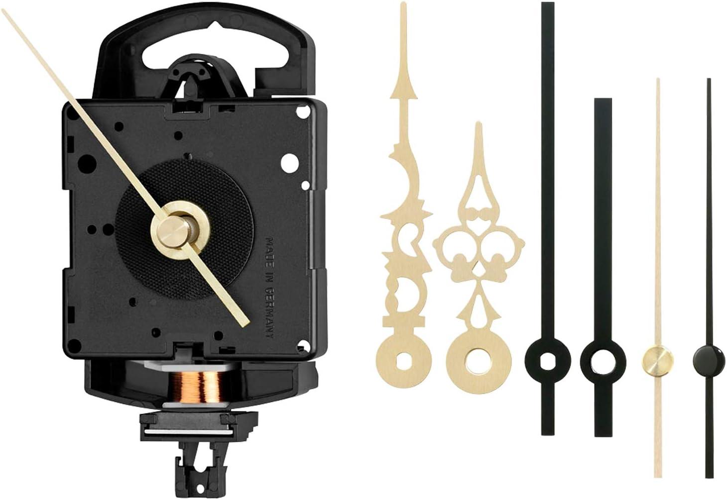 Junghans SK 817 ZWL - Set de Mecanismo de Cuarzo para Reloj de Pulsera (20,1 mm, Incluye manecillas a Juego)