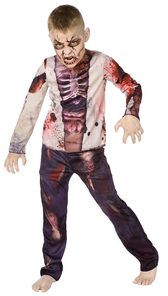 Bunt Bristol Novelty CC917 Zombie Kleid mit 3D-Druck
