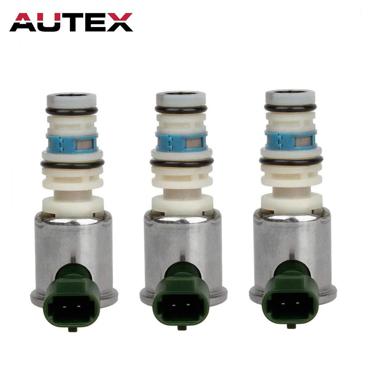 AUTEX 3Pcs 96022804 5L40E 5L50E Transmission Shift Solenoid