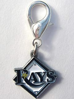 product image for Diva-Dog MLB Baseball 'Tampa Bay Rays' Licensed Team Dog Collar Charm