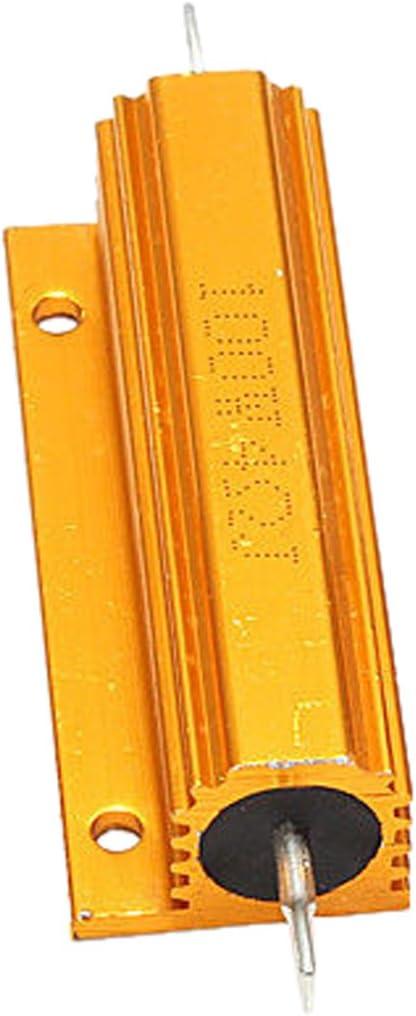 4 Ohm 4R SovelyBoFan Gold Aluminum Clad Power Resistor Resistance 100W