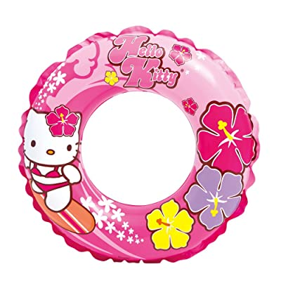 "Intex Hello Kitty Swim Ring, 24"" Diameter, for Ages 6-10: Toys & Games"