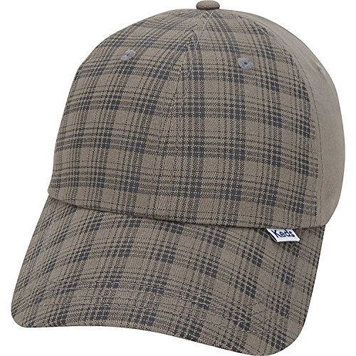 (Keds Brushed Plaid Cap (One Size - Drizzle))