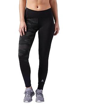 c880f1b42956b Reebok Women's Speedwick Obstacle Compression Leggings, Black, Small ...
