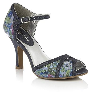 Ruby Shoo Women s Eliza Peeptoe Occasion Sandals  Amazon.co.uk ... a1c5a7d20ee7