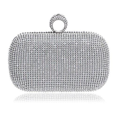 Symbolove Womens Modern Fashion Evening-handbags Cabinet Clutch Bag For  Womens-C1 7e7a0cbc7b10f