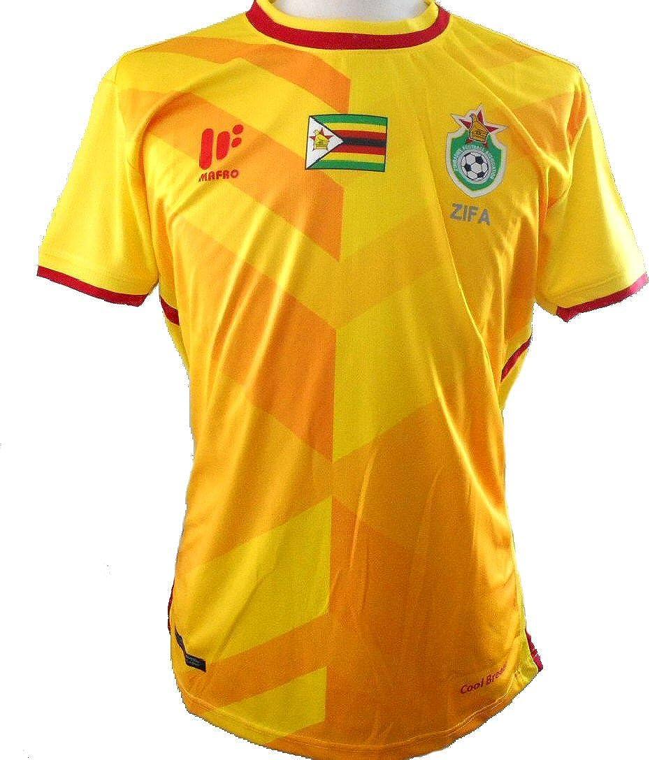 Mafro Sports Zimbabwe - Camiseta de fútbol para hombre (2017-2018): Amazon.es: Ropa y accesorios