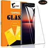 [2-Pack] AVIDET for Sony Xperia 1 II Screen Protector, HD Clear [Anti-Scratch][Bubble Free][Anti-Fingerprints] 9H…