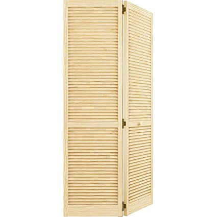 Charmant Closet Door, Bi Fold, Kimberly Bay Traditional Louver Louver Clear 80 In