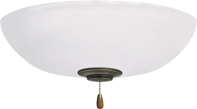 Light Fixture for Ceiling Fans Appliance White LED Array Emerson Ceiling Fans LK83LEDWW White Linen L.E.D