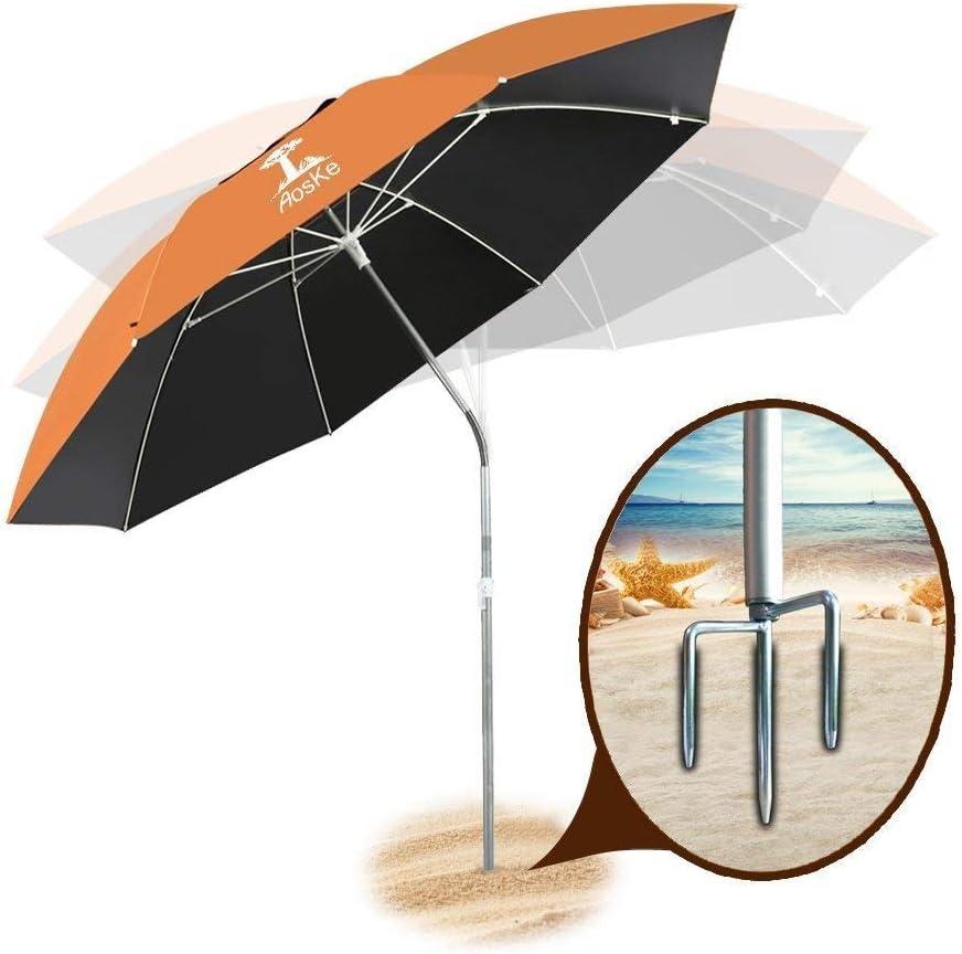 Beach Umbrella Portable & Windproof