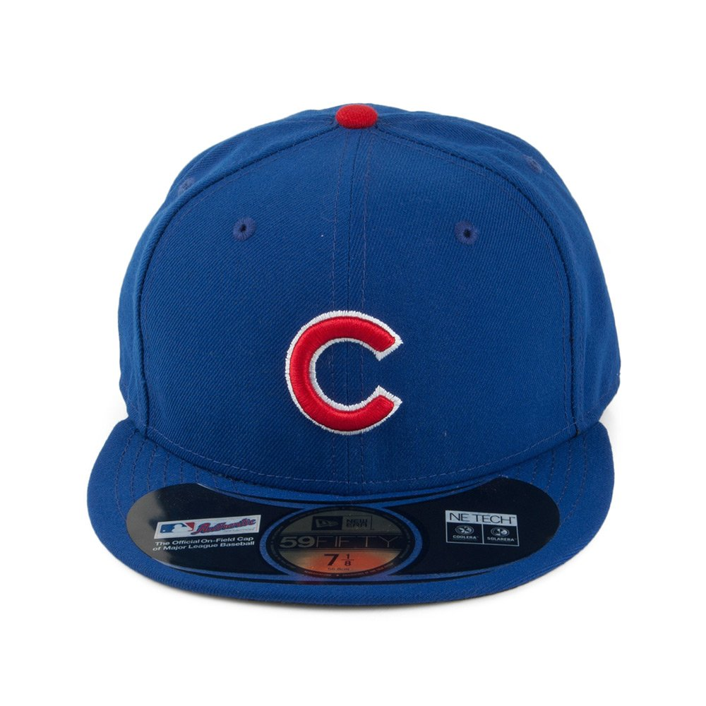 7e4a490ca65 New Era 59FIFTY Chicago Cubs Baseball Cap - Game  Amazon.co.uk  Clothing