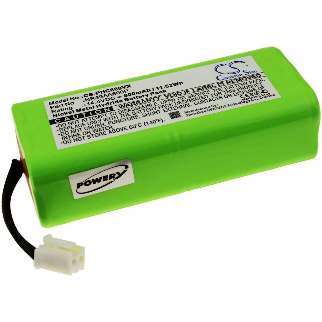 Powery Batería para Robot Aspirador Philips FC8800: Amazon.es ...